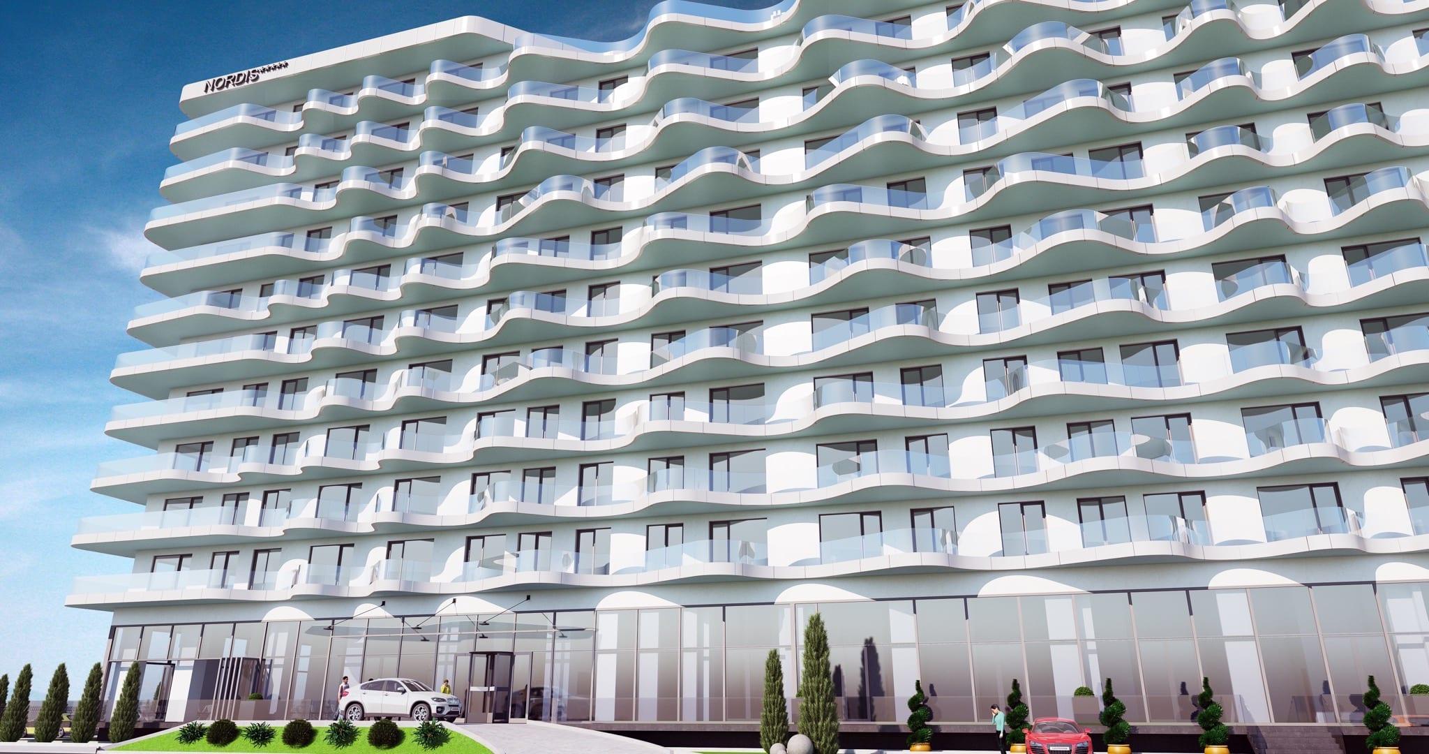 Mamaia 2 copy - Nordis se extinde în țară. Prima fază a proiectului în afara Bucureștiului, Nordis Residence Mamaia Beach, va fi finalizată la începutul sezonului 2020