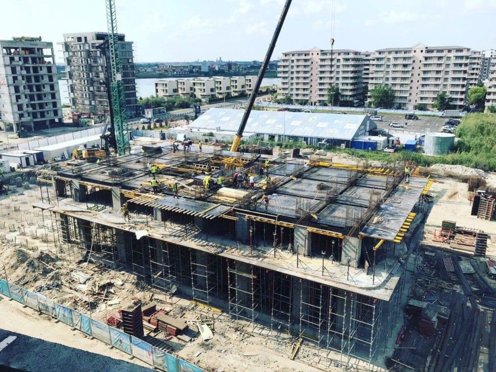 Mamaia santier copy 1024x768 - Nordis se extinde în țară. Prima fază a proiectului în afara Bucureștiului, Nordis Residence Mamaia Beach, va fi finalizată la începutul sezonului 2020