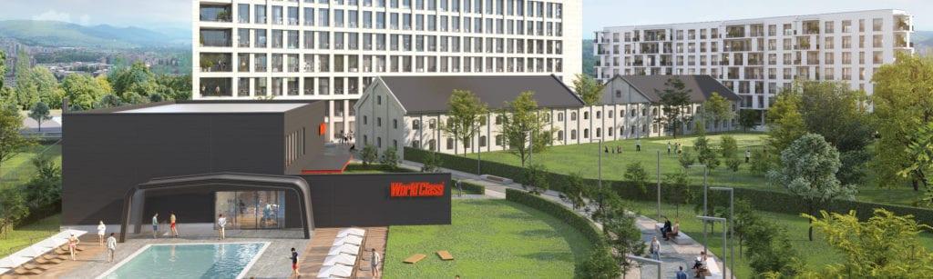 RecordPark 1024x307 - Cluj-Napoca, investiții importante în rezidențial și office