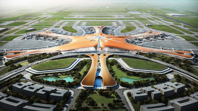 Zaha Hadid Beijing new airport terminal dezeen BN - Cele mai așteptate proiecte imobiliare ale anului 2019 (I)