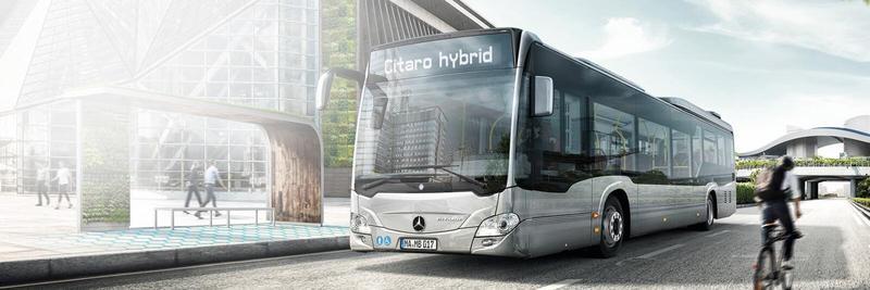 citaro hibrid - PMB cumpără 130 de autobuze hibrid Mercedes-Benz