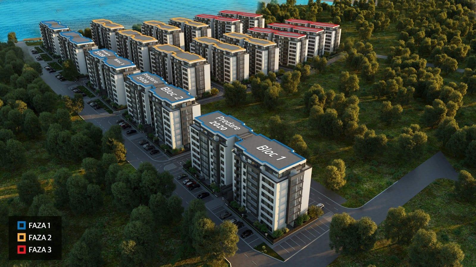 h pipera lake - HAGAG Development Europe începe investiția de 90 de milioane de euro în apartamentele din Pipera