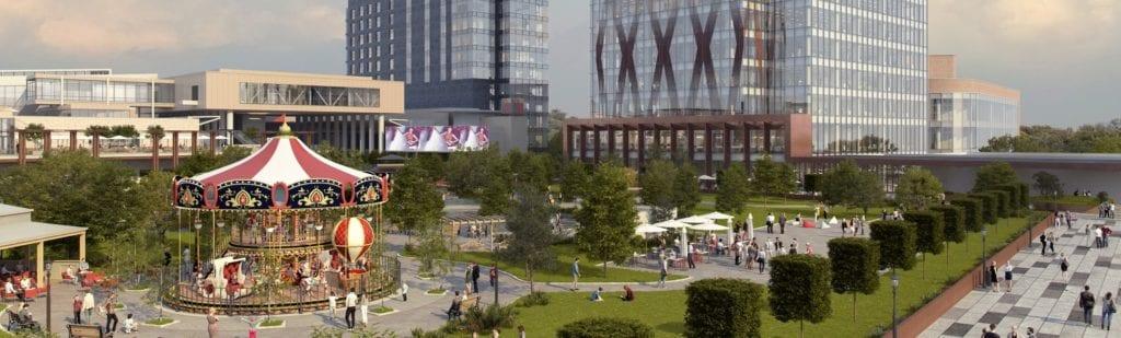 iulius town 2 1024x309 - Top 5 centre comerciale așteptate până în 2020 - Ce proiecte se deschid la nivel național?