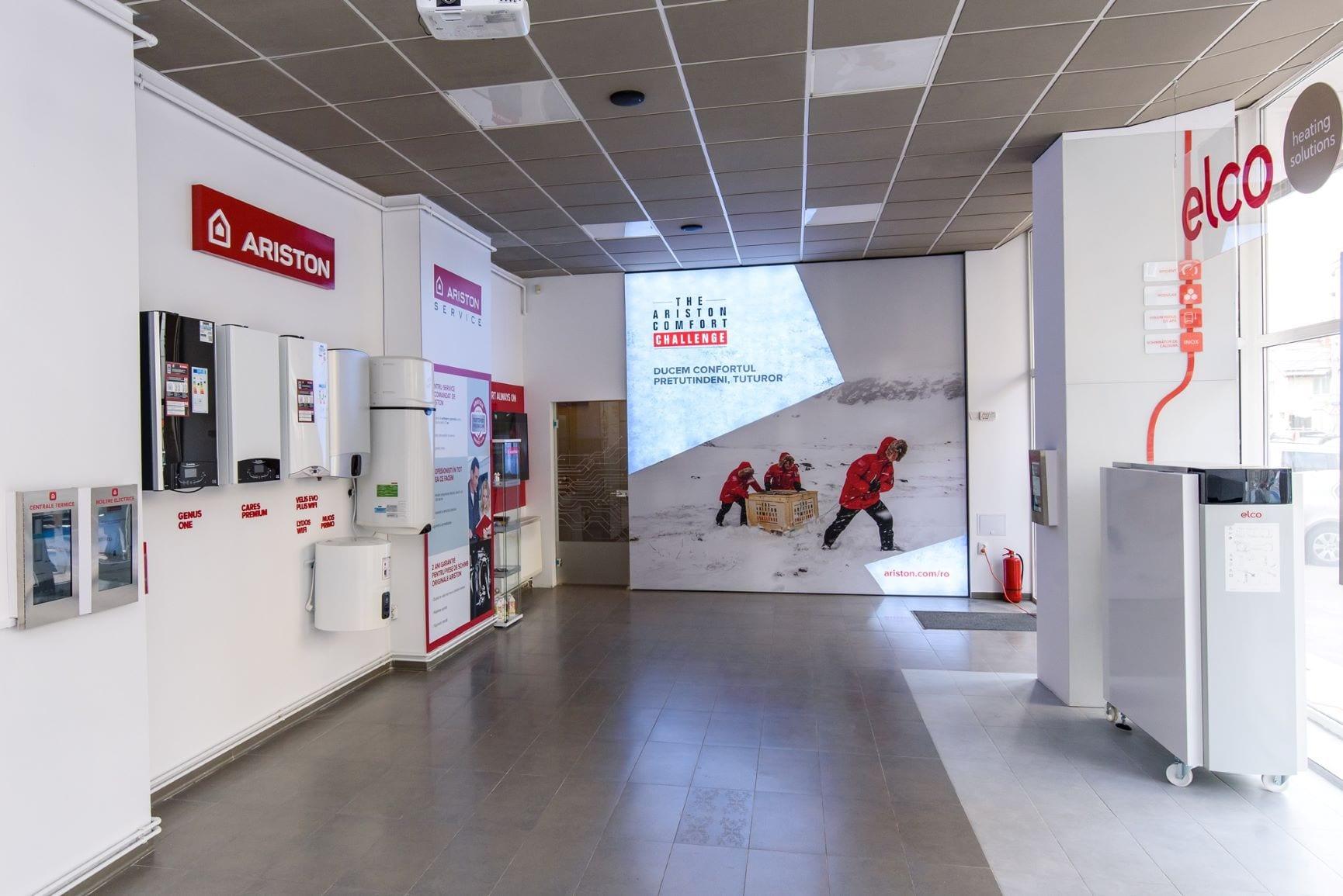 Showroom Ariston 1 - Ariston Thermo România a lansat un showroom la Cluj-Napoca