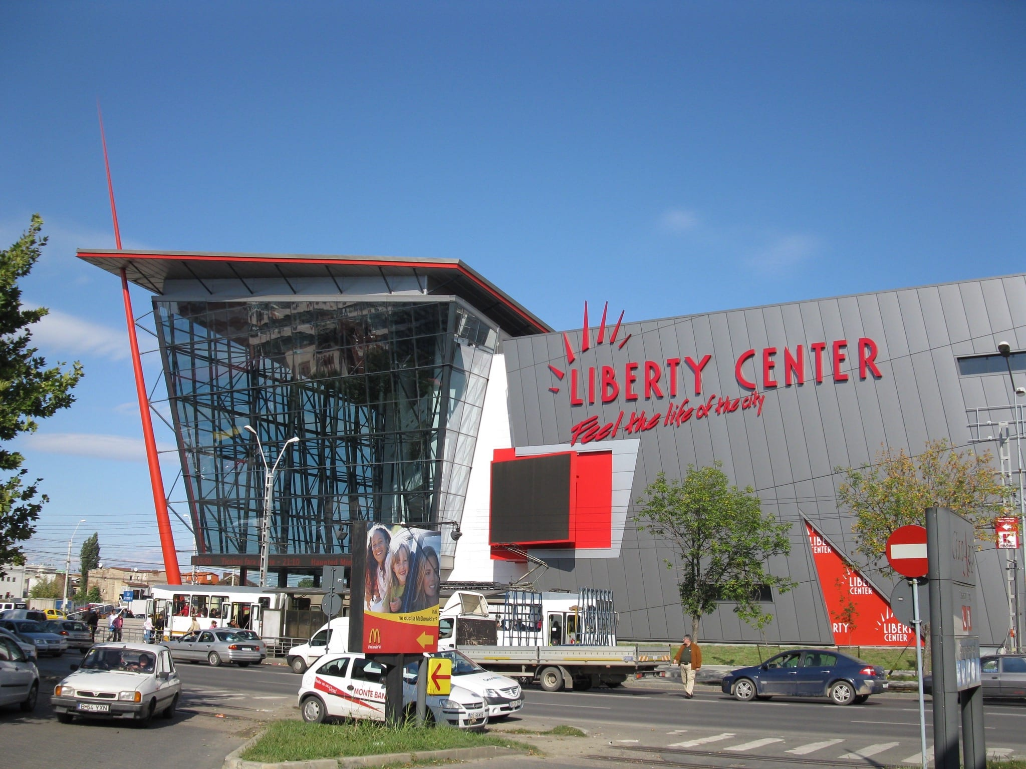 Liberty Center copy - Investiție de 400.000 de euro în prima fază de modernizare a Liberty Center