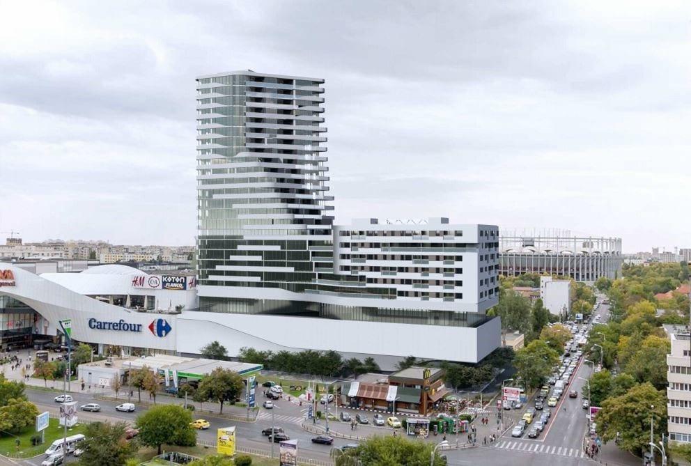 NEPI Rockcastle rezidential Bucuresti Mega Mall - NEPI Rockcastle intră pe segmentul rezidențial din România cu investiții de 83 milioane euro