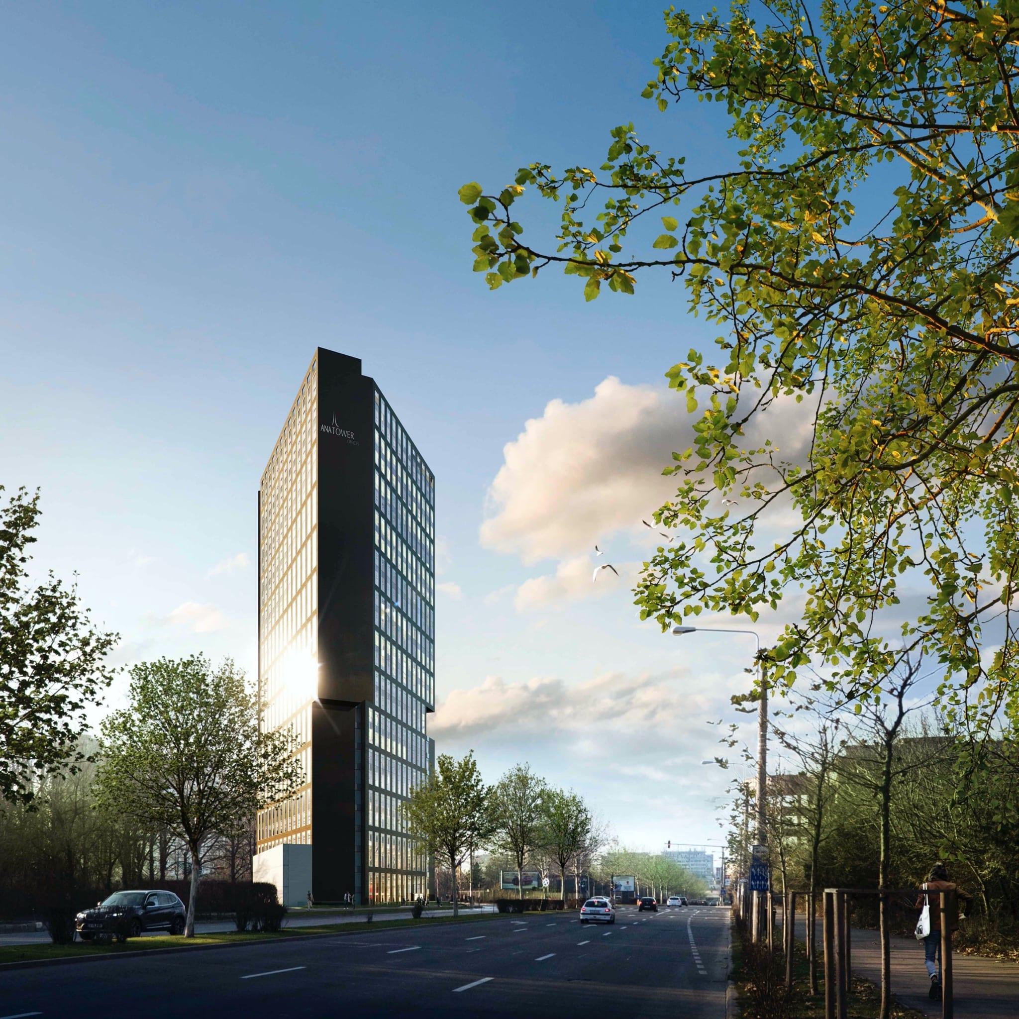 ana tower 3 copy - Dezvoltări rezidențiale și office importante, în zona de nord a Capitalei