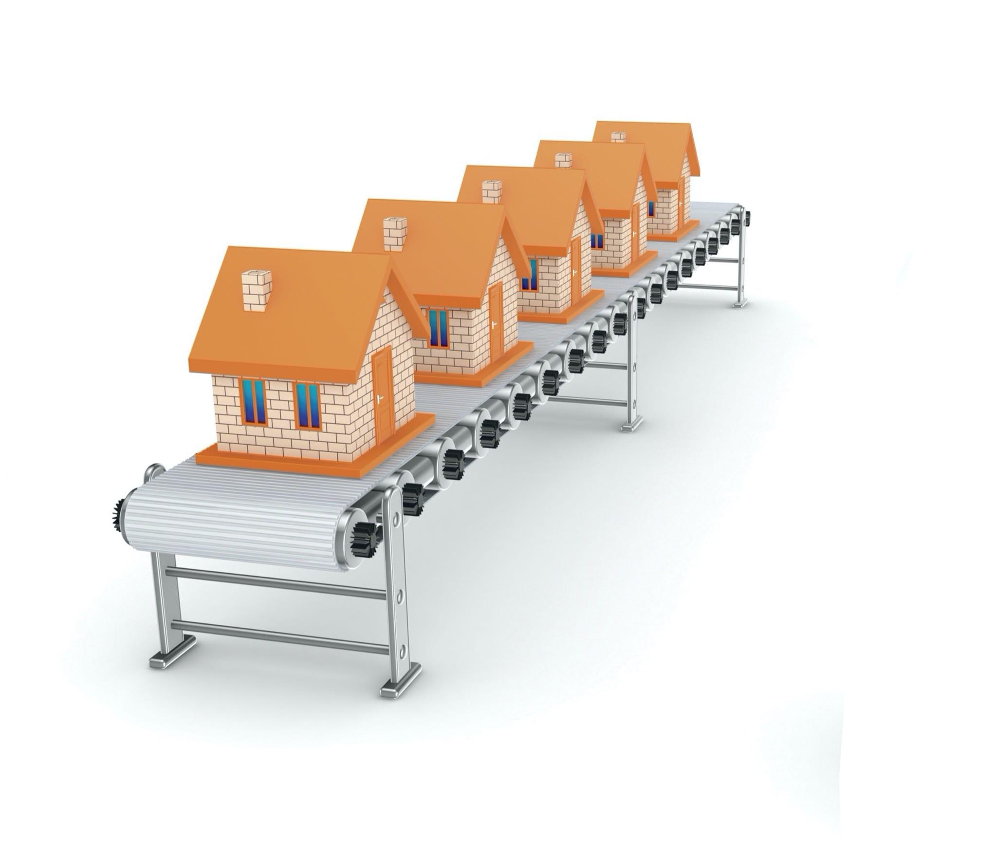 locuinte - Sectorul rezidențial, creșterea autorizărilor de construire în februarie