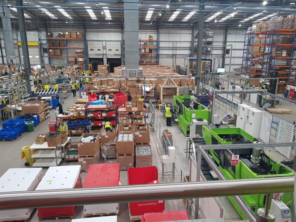 20191114 104425 1024x768 - Povestea fabricii Herman Miller din UK, care trimite scaunele high-tech în Europa, Orientul Mijlociu și Africa
