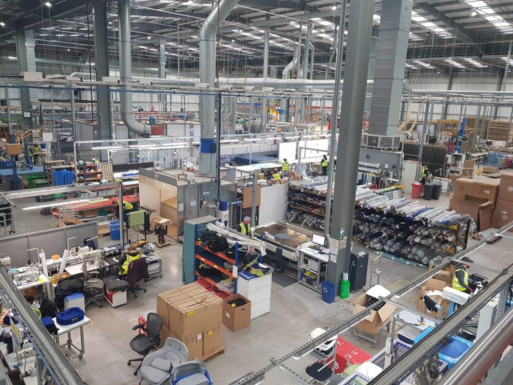 20191114 104518 1024x768 - Povestea fabricii Herman Miller din UK, care trimite scaunele high-tech în Europa, Orientul Mijlociu și Africa