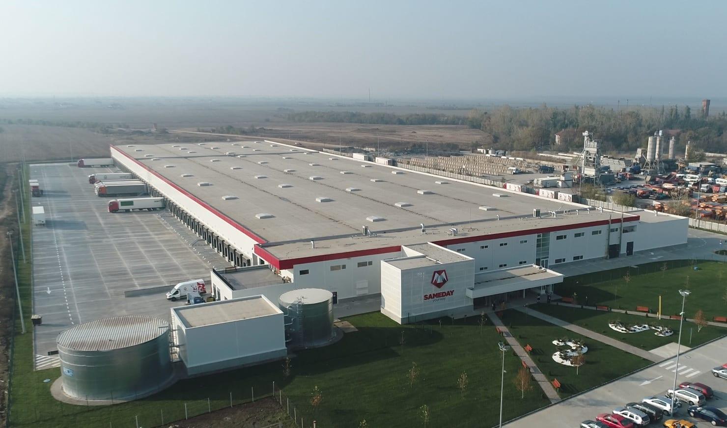 Sameday Centru logistic  - Sameday investește 20 de milioane de euro într-un nou centru logistic
