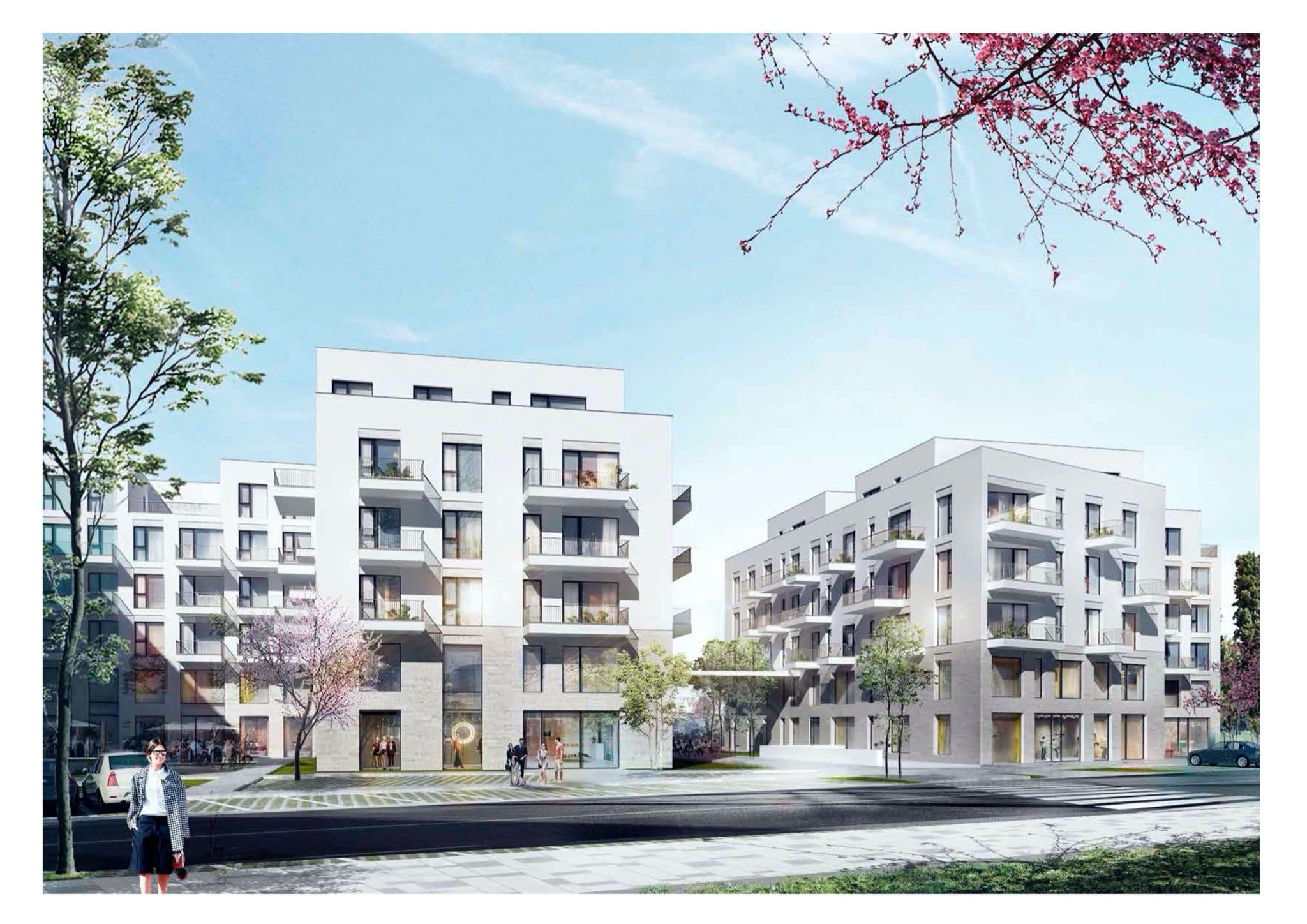 Scandia Food Project rendering copy - Nou jucător în imobiliare: Scandia Food pregătește prima sa investiție în locuințe