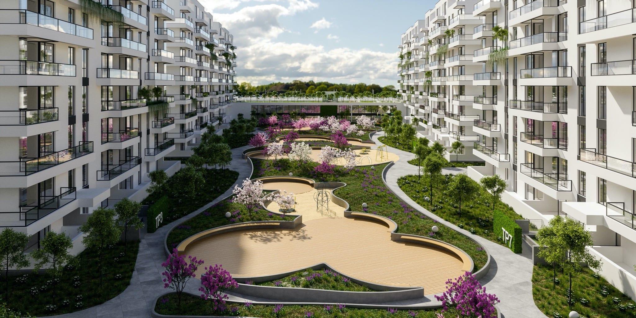 Tomis Park 1 copy - Tomis Plus investește 20 milioane de euro în extinderea proiectului rezidențial din Constanța