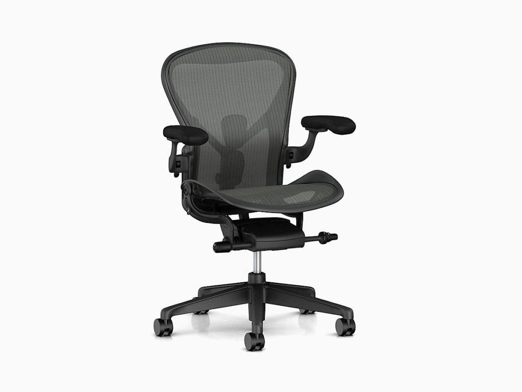 aeron 1024x768 - Povestea fabricii Herman Miller din UK, care trimite scaunele high-tech în Europa, Orientul Mijlociu și Africa