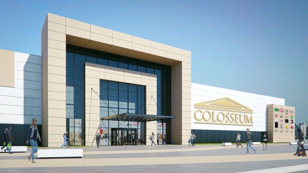 Randare exterior Colosseum Mall copy 1024x576 - Analiză: Rate de neocupare mici și livrări importante pentru spațiile de birouri și retail
