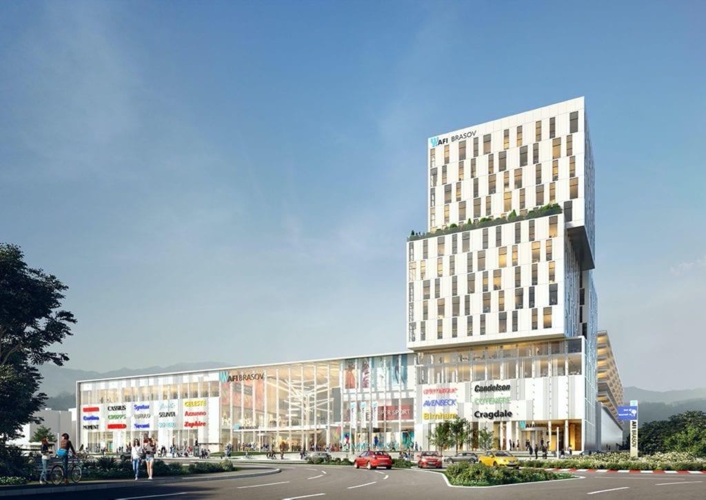 """afi brasov copy 1024x725 - Dezvoltatorii imobiliari accelerează investițiile în proiectele mixte cu trăsături de """"mini-orașe"""""""