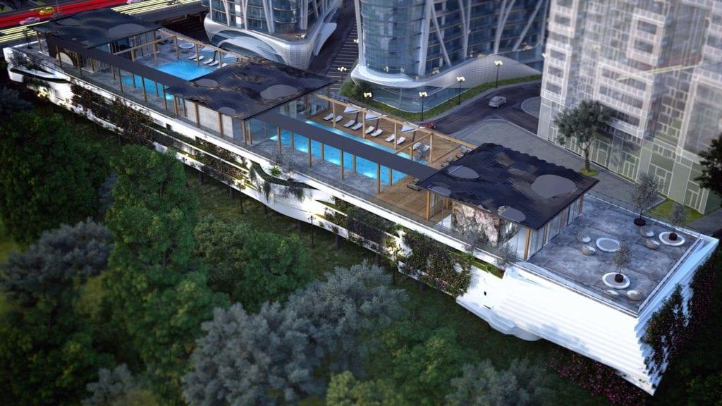 """crown towers 3 1024x576 - Silviu Grigorescu, managing partner, Metropolitan: """"În acest moment nu există niciun alt proiect cu arhitectura și dotările ansamblului Crown Towers"""""""