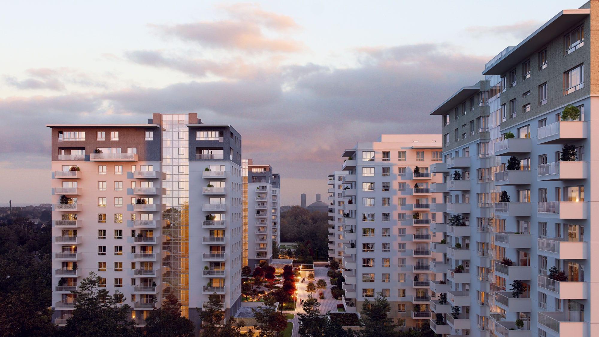 luxuria domenii - Impact dezvoltă încă 130 de apartamente în Luxuria Domenii Residence