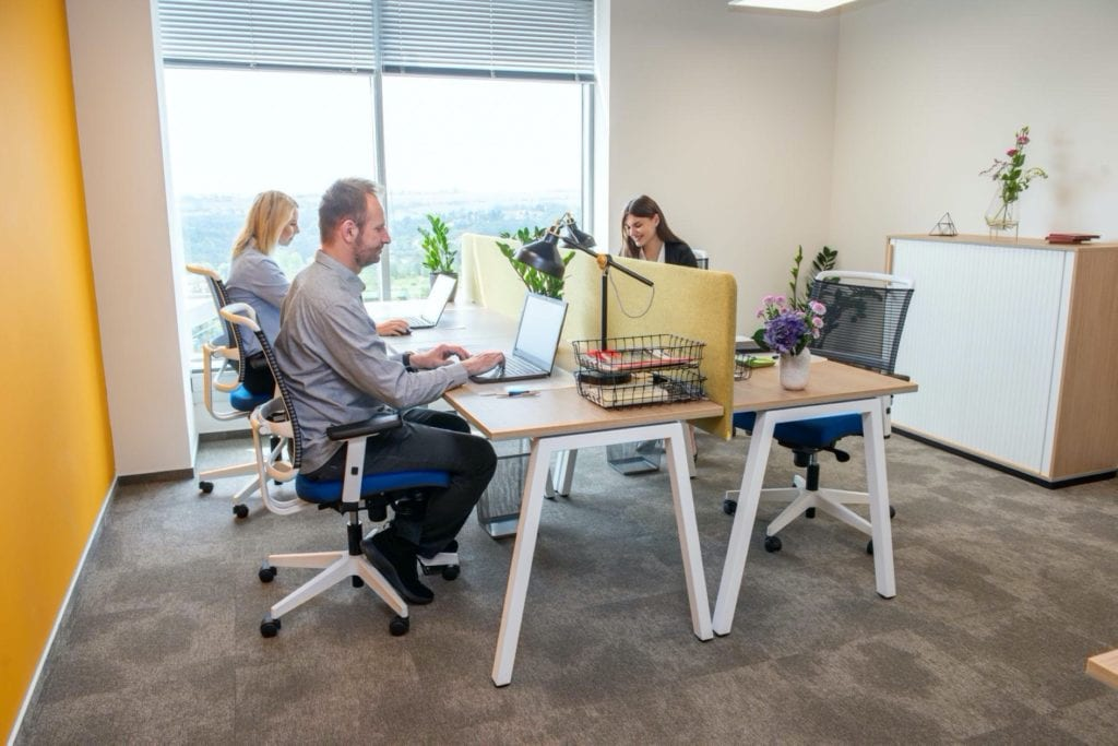newwork copy 1024x683 - Top 5 proiecte de coworking și birouri flexibile din București