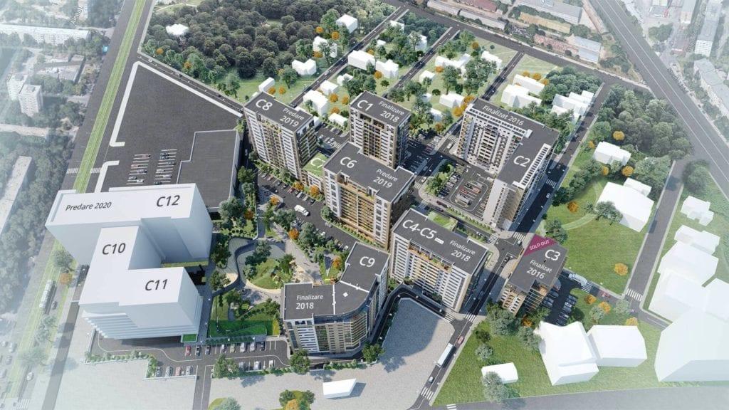 proiecte livrate 2 copy 1024x576 - Analiză: Proiecte rezidențiale importante din Capitală, livrate în 2019