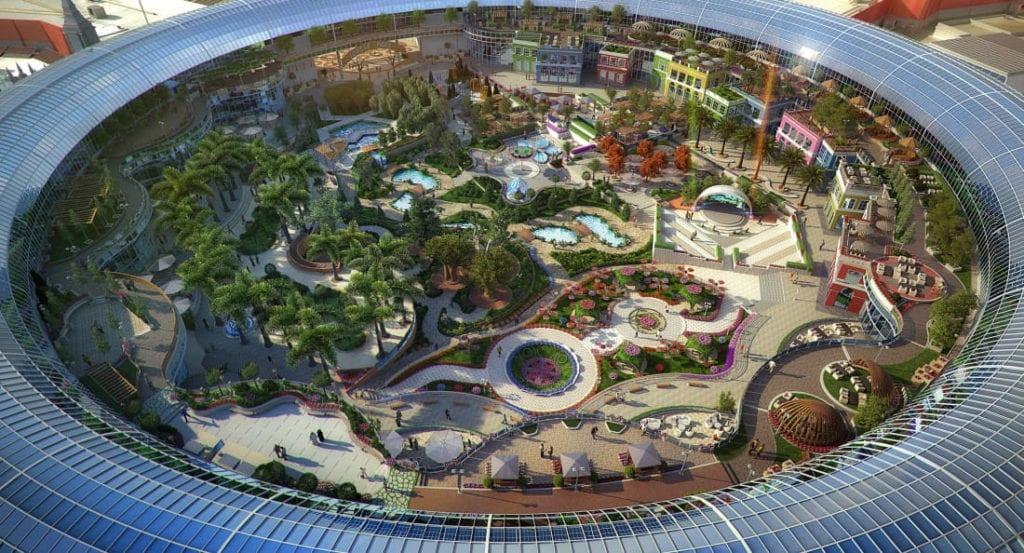 dubai mall 2 1024x553 - 8 proiecte imobiliare din Dubai care se anunţă a fi spectaculoase
