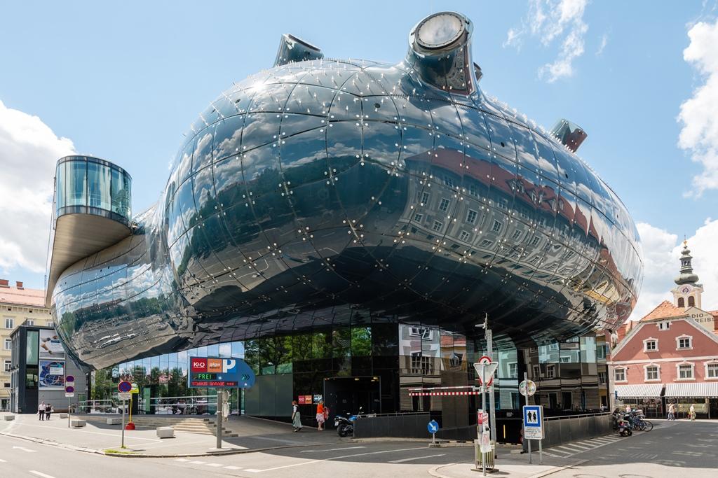 kunsthaus - Cele mai neobișnuite construcții din Europa