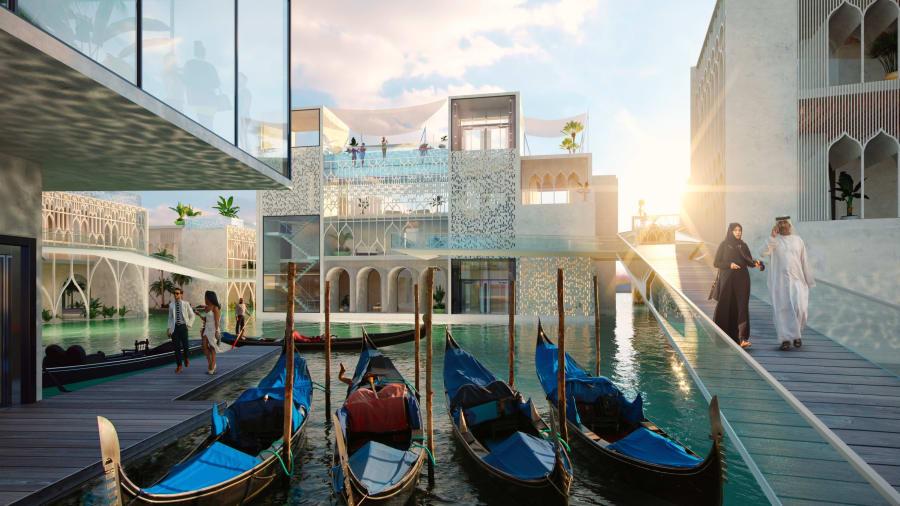 venetia - 8 proiecte imobiliare din Dubai care se anunţă a fi spectaculoase