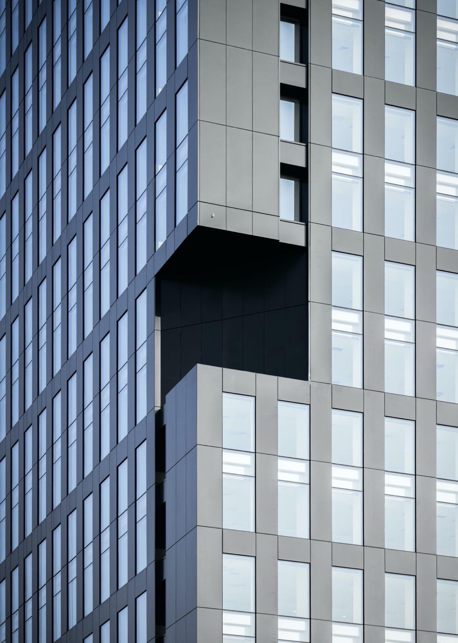 Ana Tower VP4 copy - Soluția unică de fațadă Alukönigstahl pentru Ana Tower