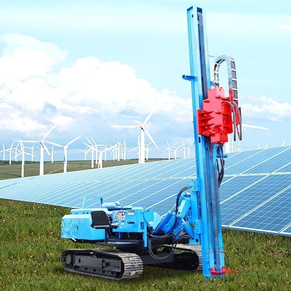 waldevar - Utilajele WALDEVAR, soluția ideală pentru fixarea panourilor fotovoltaice