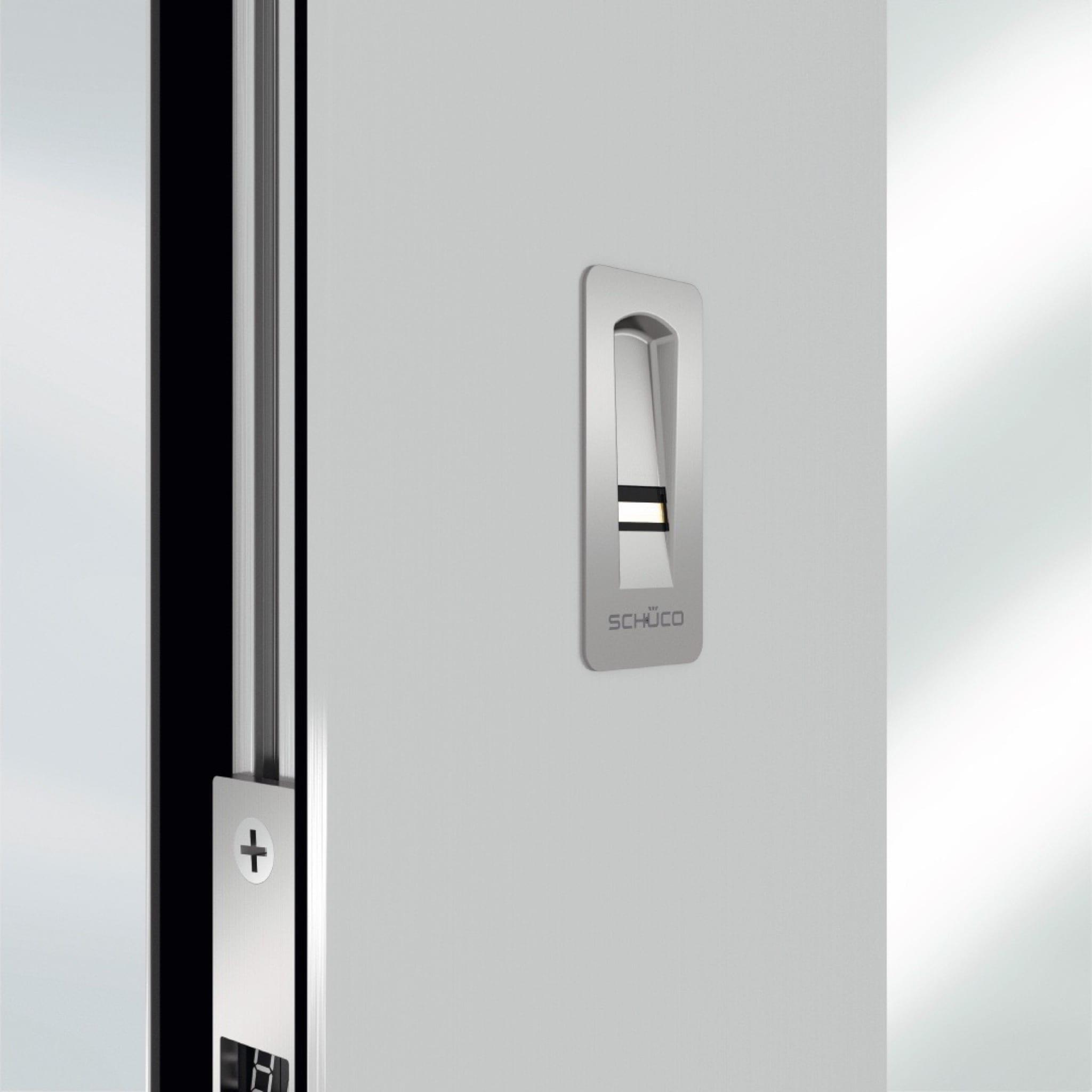 ADS SimplySmart Fingerprint d copy - Soluțiile Smart Home de la Schüco, pentru confort, siguranță și eficiență energetică