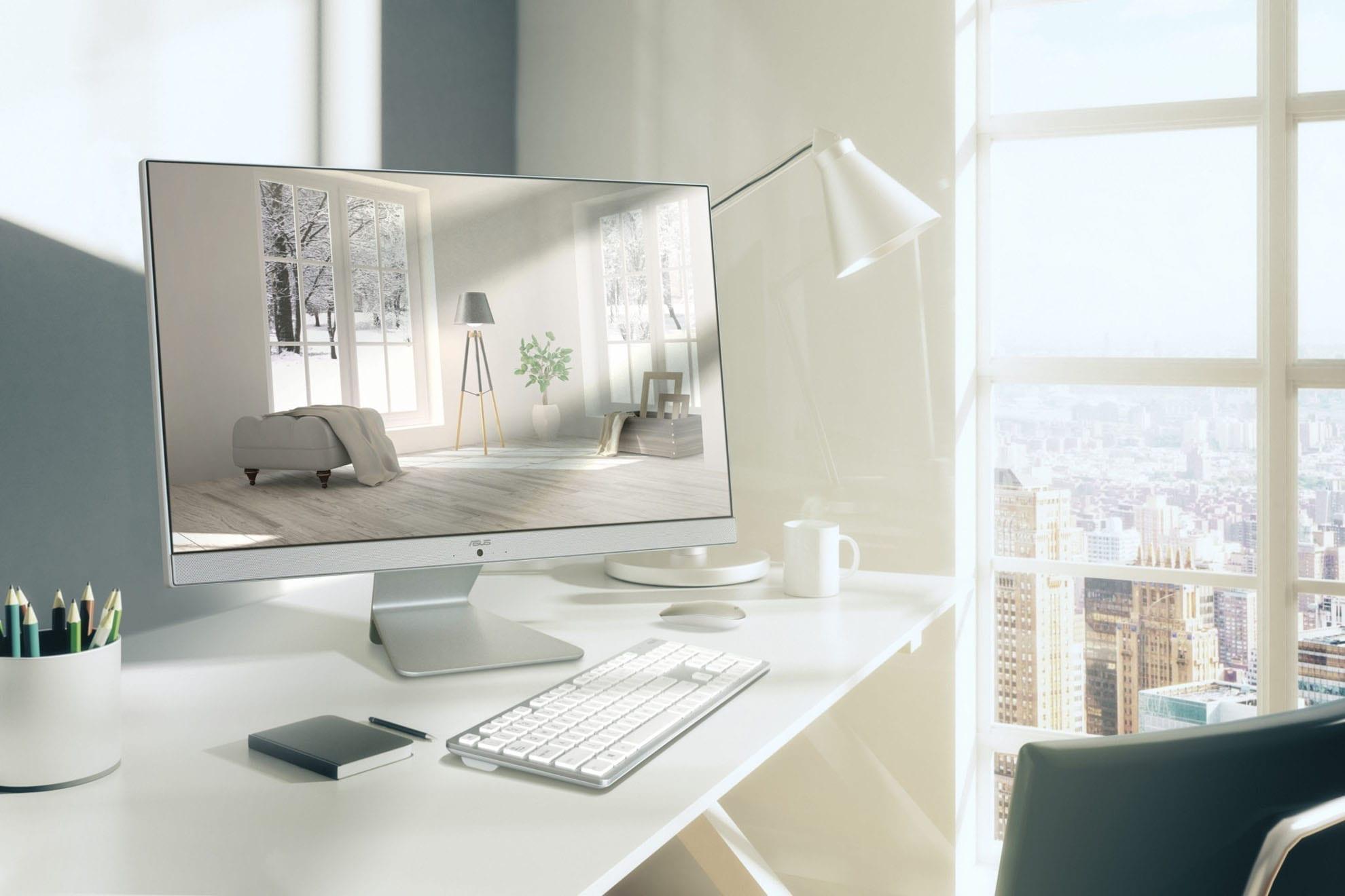 Asus Vivo AiO M241 3 scaled 1 - ASUS prezintă o nouă soluție All-in-One pentru birou și acasă: o experiență de divertisment foarte bună cu noul Vivo AiO M241
