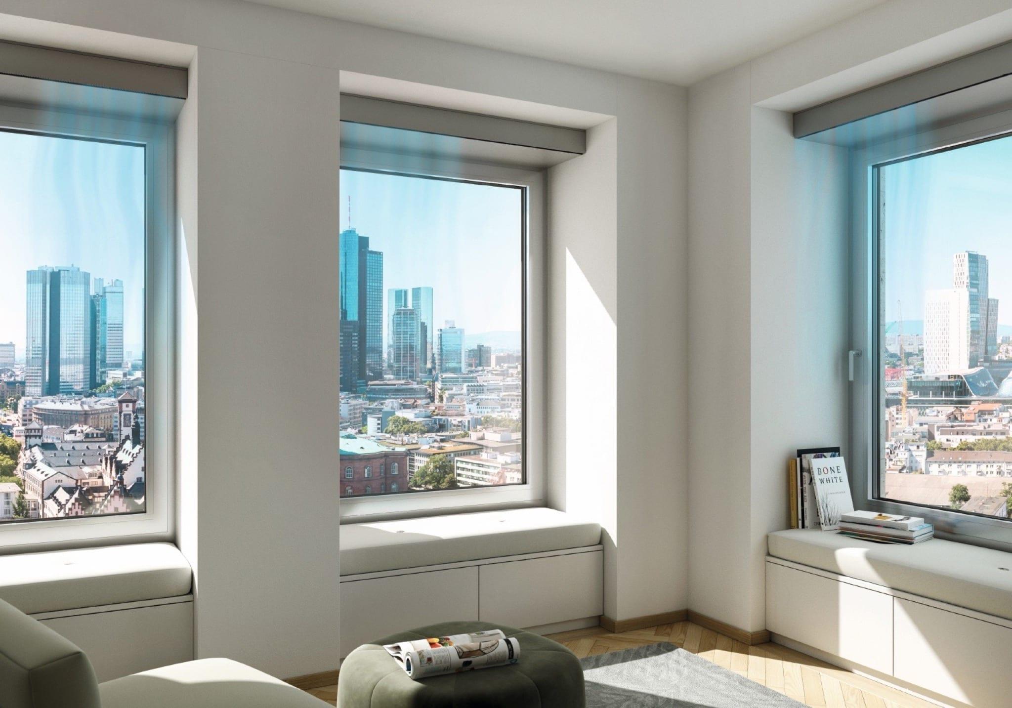 VentoTherm Twist m Wohnzimmer Luftstrom copy - Soluțiile Smart Home de la Schüco, pentru confort, siguranță și eficiență energetică