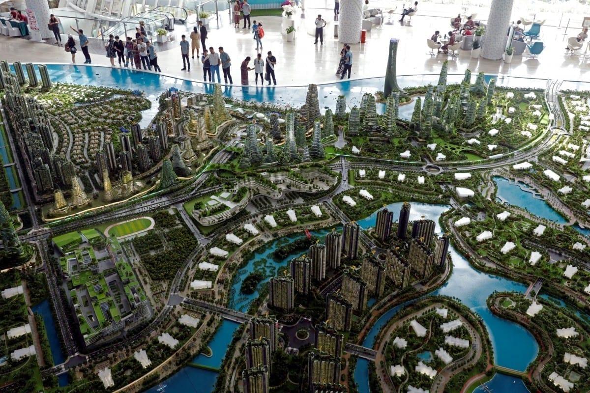forest city - Cele mai ambițioase proiecte de orașe ale viitorului