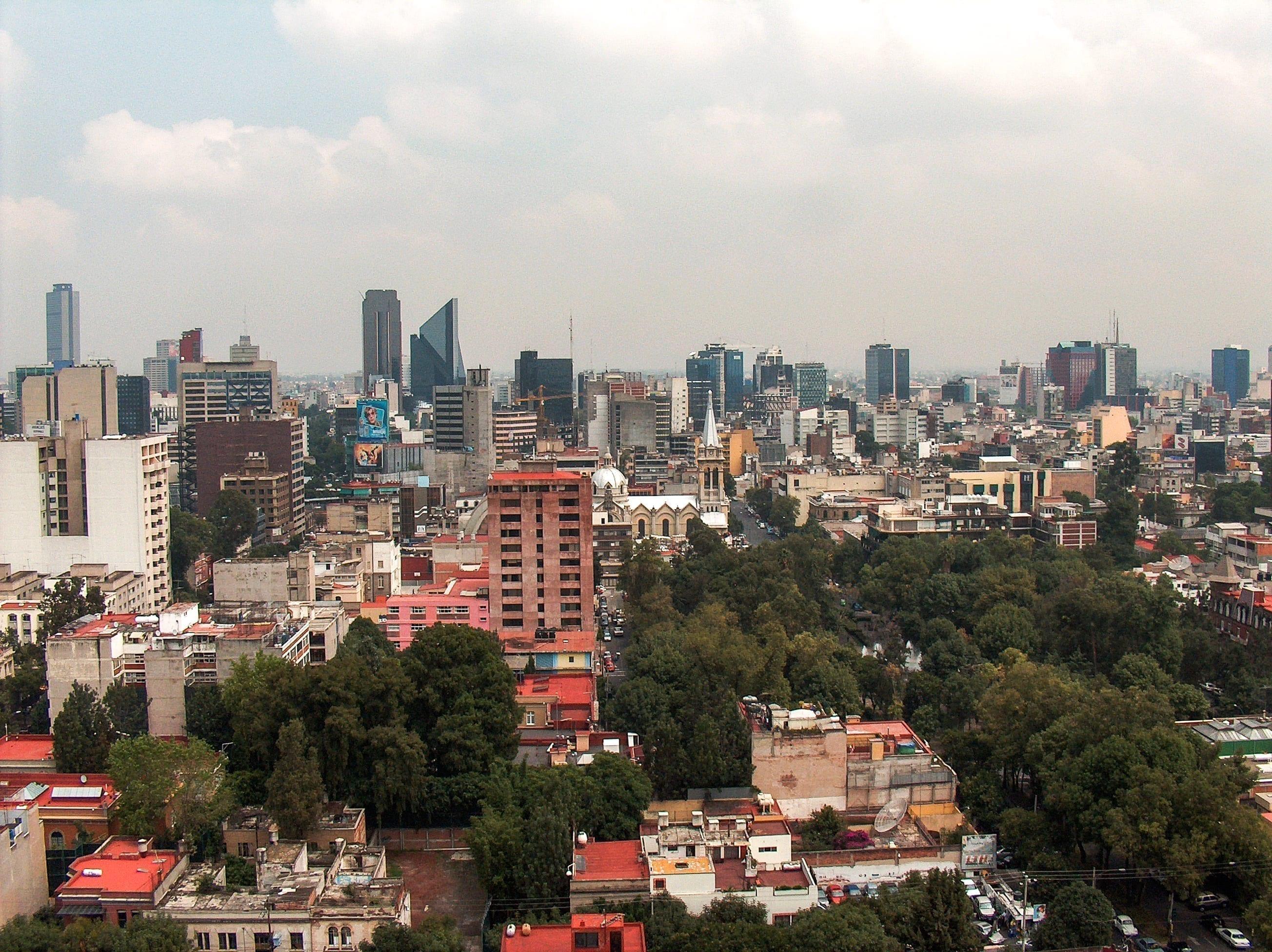 mexico city skyline 2 1234774 - mexico-city-skyline-2-1234774