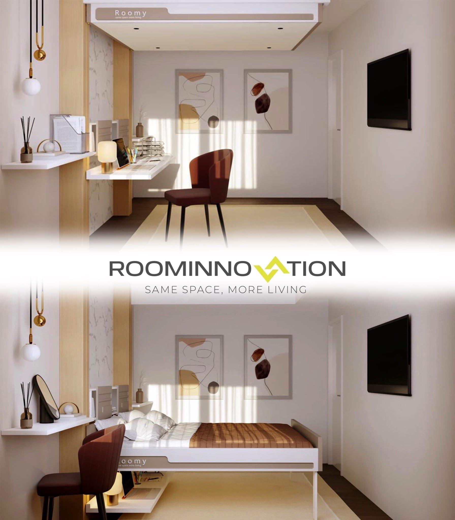 pat blur alb 1 copy - RoomInnovation, conceptul inovator care revoluționează conceptul clasic de apartament