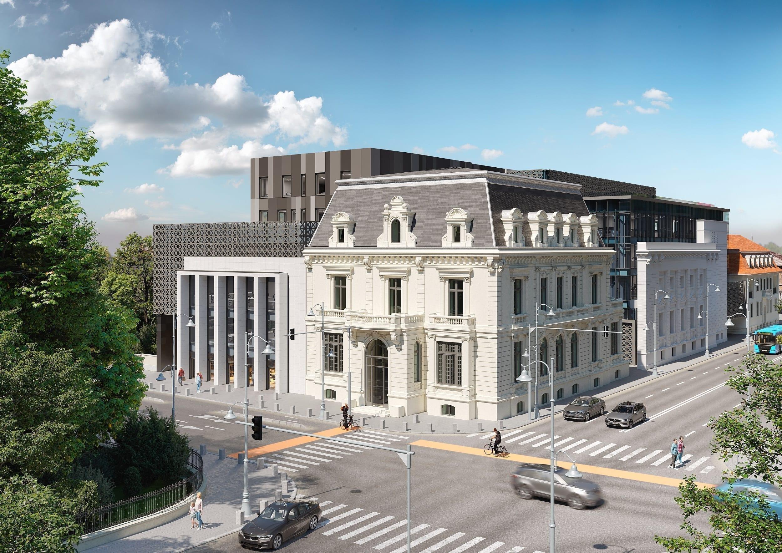dacia one - Topul proiectelor de birouri din București cu livrare în 2021