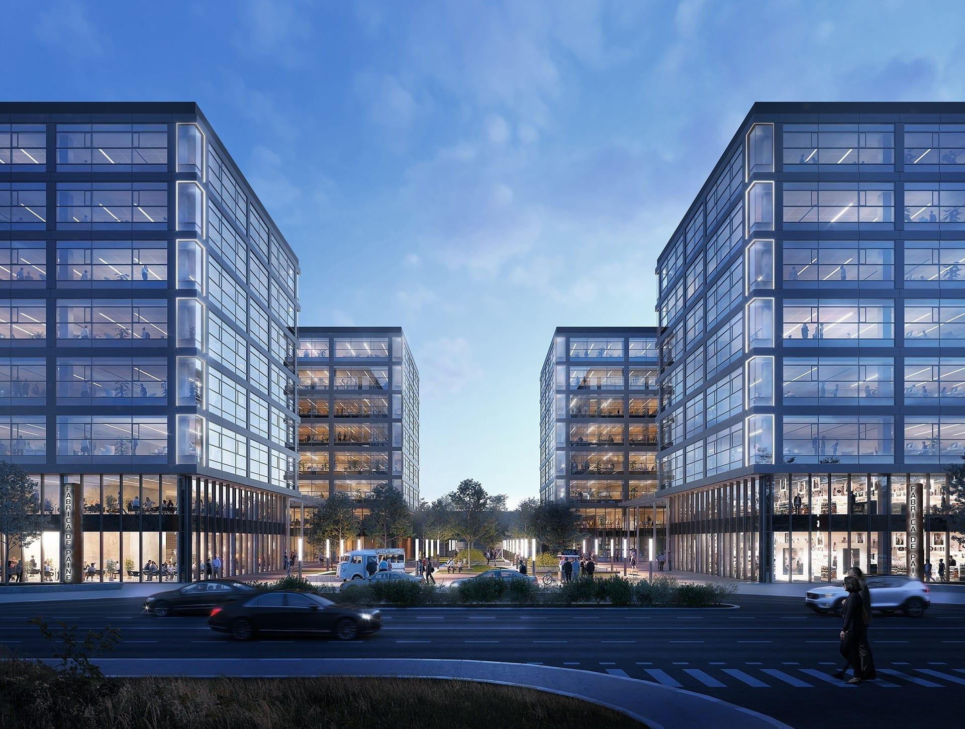 j8 office park - Topul proiectelor de birouri din București cu livrare în 2021