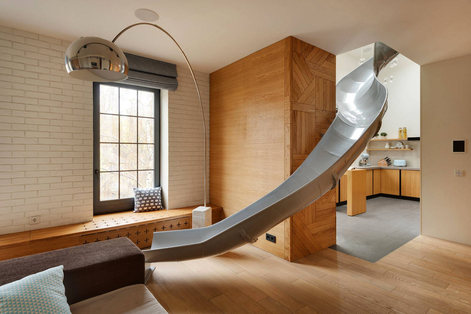 Apartment with a slide just3ds.com 10 - Sursă de inspirație: Case cu design ultra-original