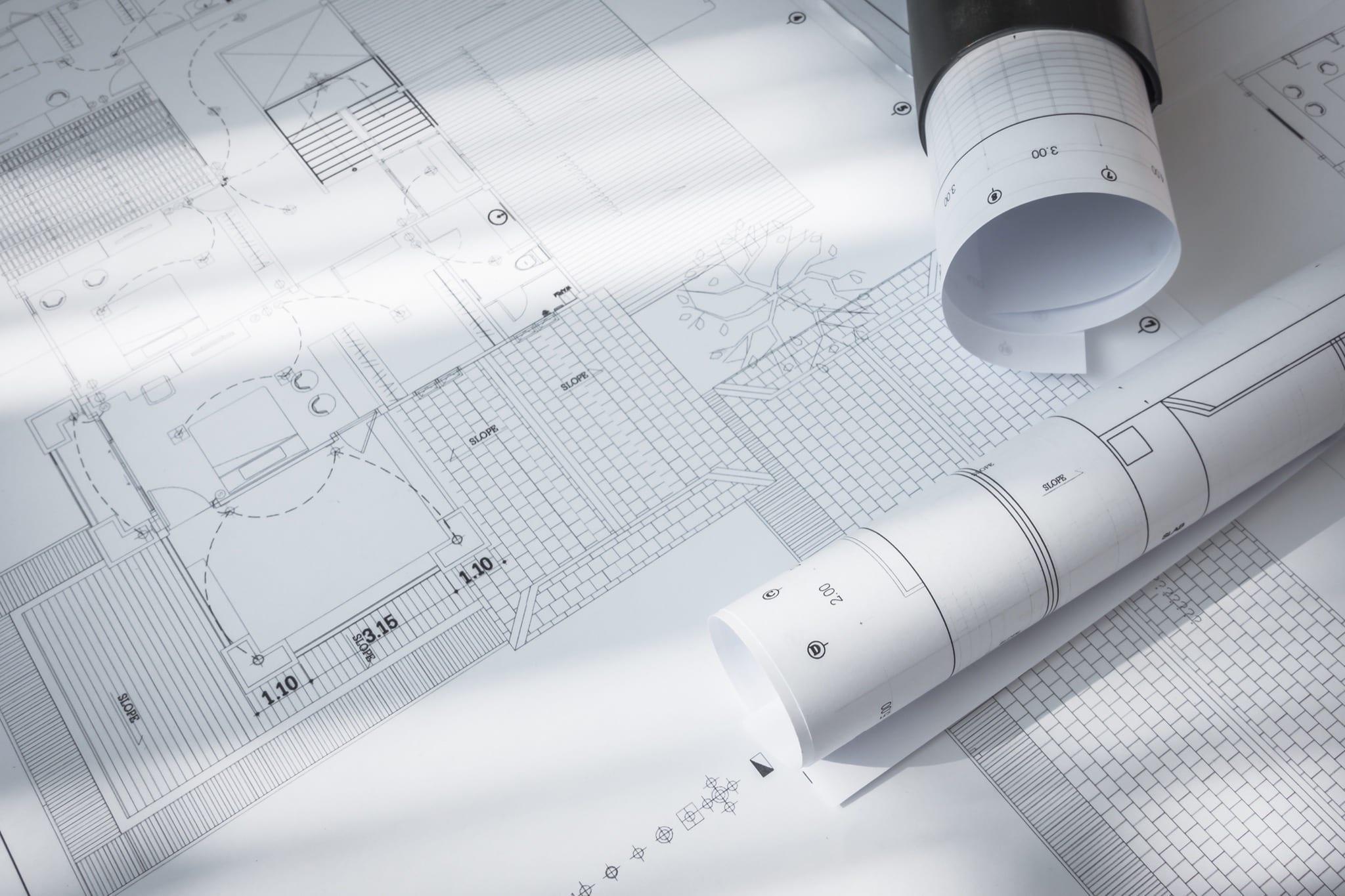 construction plans of architectural project copy - Piața investițiilor imobiliare continuă dezvoltarea sub influența crizei sanitare în 2021