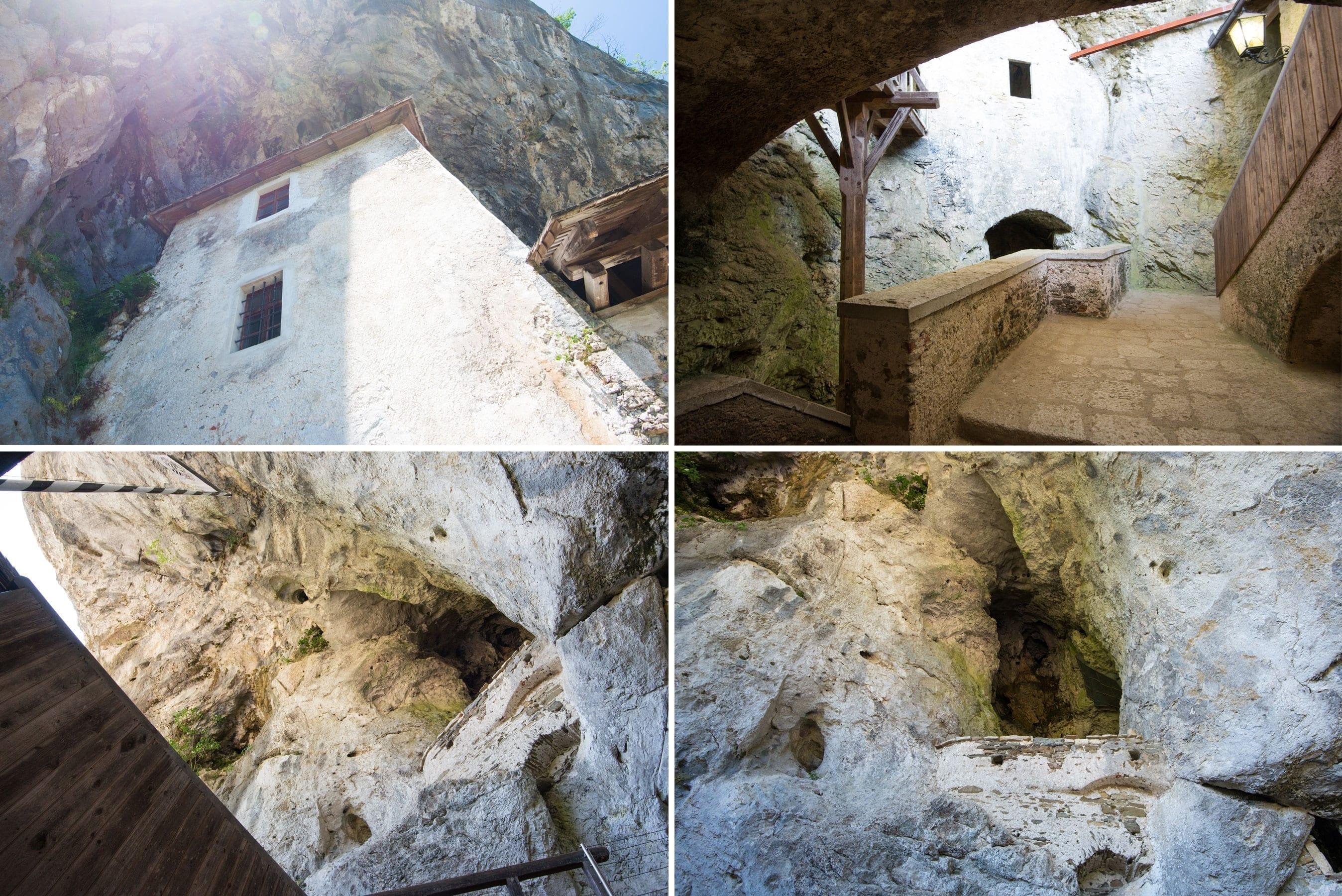 predjama castle slovenia nowwhatstheplan 11 copy - Castelul Predjama, răsărit din munte, la intrarea într-o peşteră