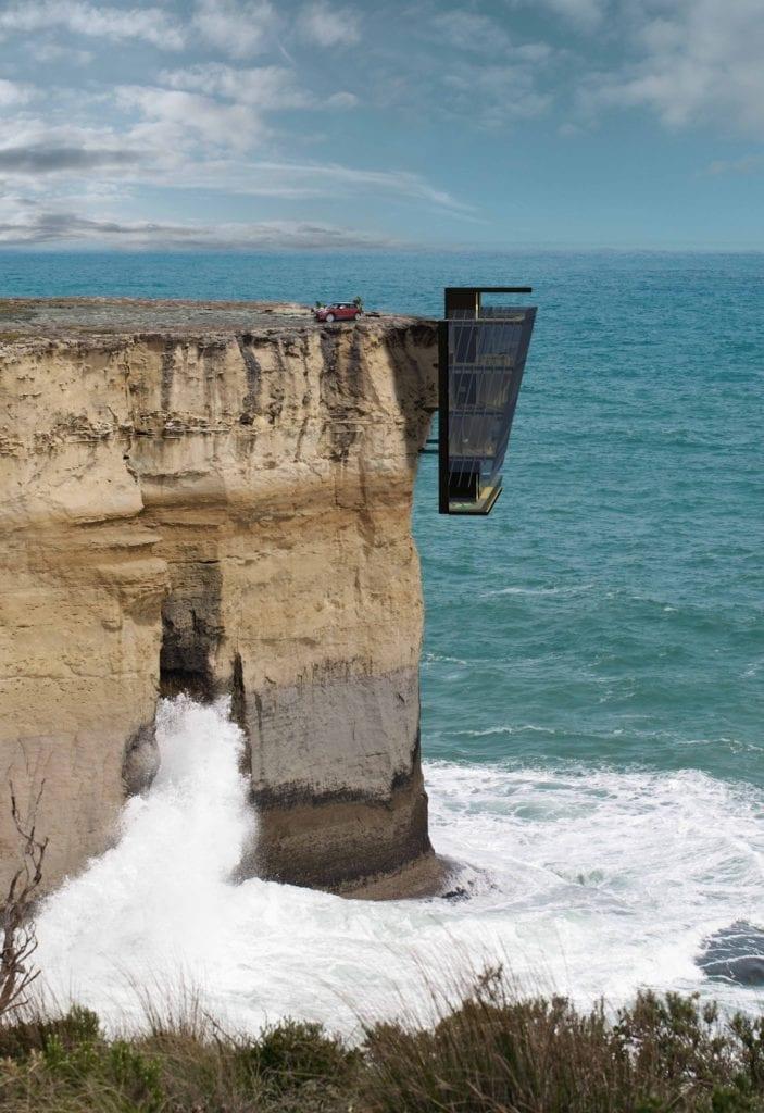 Cliff House by Modscape Concept external 703x1024 - Case cu design ultra-original (II)