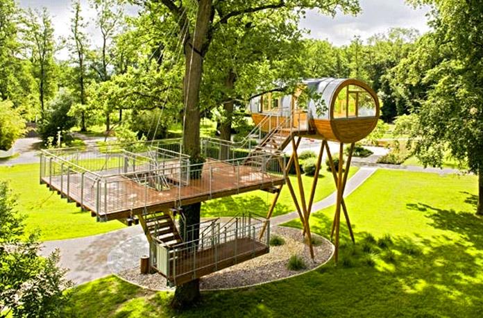 Living treehouse design - Case cu design ultra-original (II)